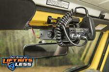 Rugged Ridge 13551.08 Blk CB Radio Windshield Mount Bracket for 97-02 Jeep (TJ)