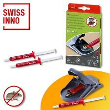 Swissinno 2 Stück Ersatzköderspritzen für SuperCat Mausefalle Pro