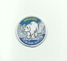 SCOUT BSA TOMAHAWK RESERVATION CAMP PATCH POLAR BEAR SWIM CLUB NSC GRAY ICE MN !