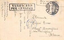 "5059) WW MARINA ANNULLO ""R. NAVE DUCA D'AOSTA 7/10/42""."