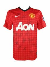 Manchester United Signed Shirt, Premiership Champions 2012-2013 + *Coa*