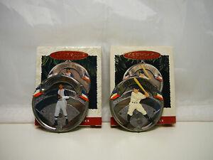 Lou Gehrig & Satchel Paige Hallmark Keepsake Christmas Ornament