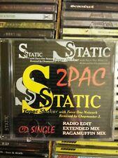 2PAC /  Static  CD Single AUSTRALIA IMPORT 1997  TUPAC SHAKUR  - New Sealed