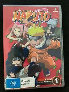 Naruto - Enter The Ninja (Uncut) : Vol 1 (DVD, 2006)