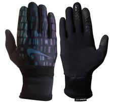 Nike Vapor Flash Run Gloves Black/Iridescent/Silver Men's Large