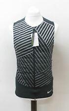 NIKE Men's Aeroloft Flash Black Zip Running Vest Jacket 859208 010 Size S NEW