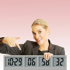 Countdown Wall Clock Digital, Countdown Wall Clock Radio Controlled, Battery