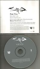 Aaron Lewis STAIND For you w/ RARE RADIO EDIT PROMO DJ CD single 2001 USA MINT