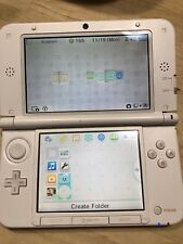 Nintendo 3DS XL White & Pink Handheld System