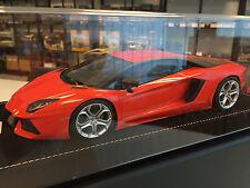 MR Collection 1/18 - Lamborghini Aventador LP700-4 Orange (Dubai Version)
