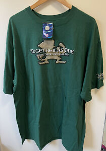 Adidas Notre Dame 2007 Together As One College Football T-Shirt Mens Size L BNWT