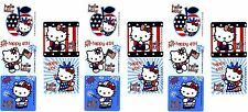 Sanrio Hello Kitty 4th of July Patriotic Usa 15 Large Stickers