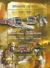 Timbres Pompiers Centrafrique 2830/3 o année 2013 lot 14821 - cote : 20 €