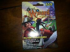 new Wizard 101 HEAVENLY PALACE BUNDLE Game Card Crowns Majestic Crane Mount +