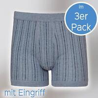 Herren Pant mit Eingriff 3er Pack von ESGE 631/4/6-320-E GR. 5 bis 9 blau/Schw