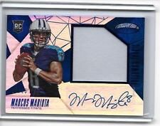 2015 Certified Marcus Mariota RC Auto/Game Patch Mirror Blue/25