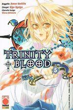 Trinity Blood n. 5 di Yoshida, Kyuiyo, Shihamoto -20% 1a ed. Planet Manga