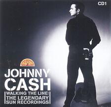 JOHNNY CASH Walking The Line Sun Recordings EU Press Union Square 805 2005 CD 1
