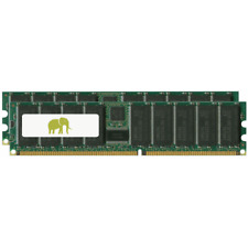 8GB (2x4GB) Sun Fire PC3200 DDR-400 Registered ECC SDRAM DIMM Memory MT-X8024A-Z