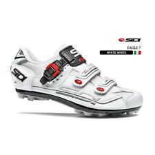 SIDI Eagle 7 Fit MTB Cycling Shoes Bike Shoes White/White Size 36-46 EUR