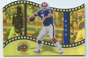 Doug Flutie 2000 playoff prestige football human highlight #HH-28 Bills 03/50