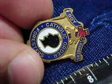Boy Rangers Catholic Order of Foresters Deer Pin Fraternal Screwback Pin  (15E1)
