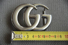 Classic GUCCI GG MARMONT BUCKLE SILVER FOR LEATHER BELT