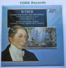TV 34406S - WEBER - Works For Piano & Orchestra LITTAUER / KOHLER - Ex LP Record