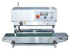 STAINLESS STEEL FR900 VERTICAL & HORIZONTAL 110VOLT CONTINUOUS BAND BAG SEALER