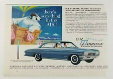 Harrison Car Air Conditioning General Motors Lockport New York 1960's Paper Ad
