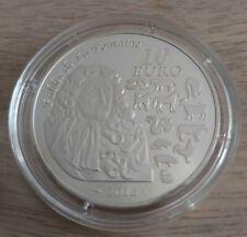 Pièce de 10 euros, FRANCE, 2014, Fables de La Fontaine (Cheval) , sous capsule