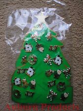 Christmas Lapel Pins 24 assorted as shown