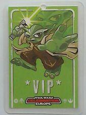 Star Wars Celebration Europe show pass 2007 VIP