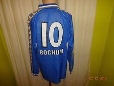 "VfL Bochum Gobe Trotter Langarm Trikot 2000/01 ""FABER"" + Nr.10 Gr.XL Neu"