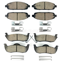 Mopar Brake Pads FRONT and REAR For 2006-2010 Jeep Commander Grand Cherokee OEM