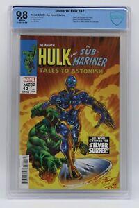 Immortal Hulk (2018) #42 Bennett TTA #93 Homage CBCS 9.8 Blue Label White Pages