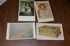 4 for Old Post Cards Cleveland Museum Of Art Cleveland Ohio Renoir Monet
