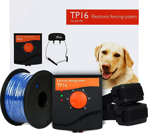 TP-16 TP16 Waterproof & Recharable Dog Electric Fencing Fence Containment System