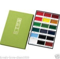 ZIG Kuretake Gansai Tambi Watercolor Jananese Paint 18 Colors Set MC20/18V