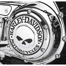 Harley Davidson willie g skull derby cover sportster xl 883 1200  2004+