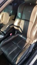 Front left drivers Side Bucket Seat black Leather Infiniti G35 Coupe 2007