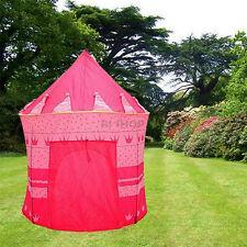 Princess pop-up tente Château Rose Playhouse filles enfants jouet jeu enfant jardin