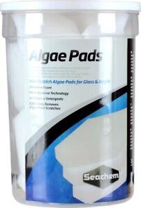 Seachem Laboratories Algae Pad for Glass & Acrylic Aquariums White 1ea/15 mm, 18