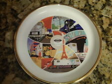 """VTG Advertising Transportation New York Central System """"Road to the Future"""" Dish"""