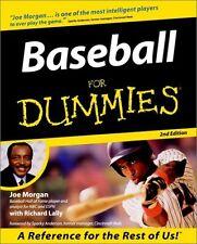 Baseball For Dummies (For Dummies (Computer/Tech))