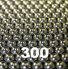 "300 Stainless Steel Bearing Balls Assortment 50 ea. of Sizes 3/32"" Thru 1/4""inch"