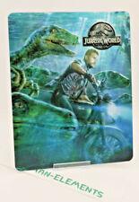 JURASSIC WORLD - Lenticular 3D Flip Magnet Cover FOR bluray steelbook