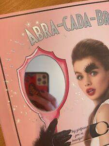 Benefit Abra-Cada-Brow Pop Up Book Makeup Cosmetics PR Gift Influencer RARE