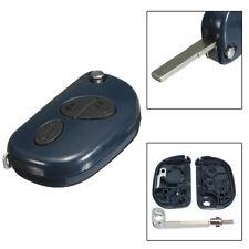 3 Button Remote Flip Key Fob Shell Case Uncut Blade For Maserati Gran RX2TRF937