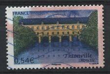 TIMBRE FRANCE N° 3952 THIONVILLE FAUTEE COULEUR ROUGE ROSE   A ETUDIER